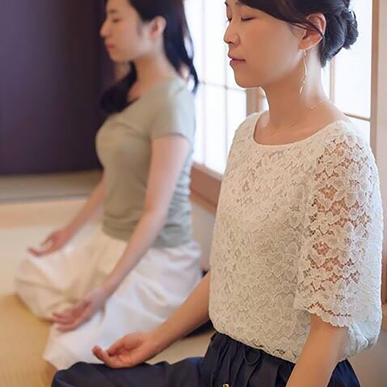 瞑想コースの様子写真